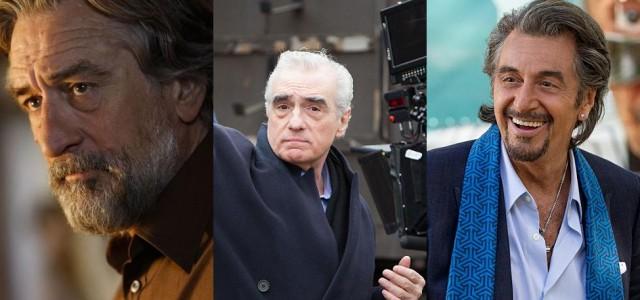 Martin Scorsese dreht The Irishman mit De Niro, Pacino und Pesci!