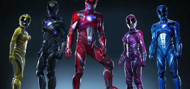 So sehen die neuen Power Rangers aus!