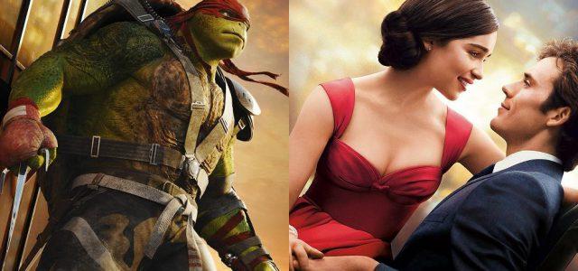 Box-Office USA: Ninja Turtles 2 enttäuscht, Ein ganzes halbes Jahr startet stark