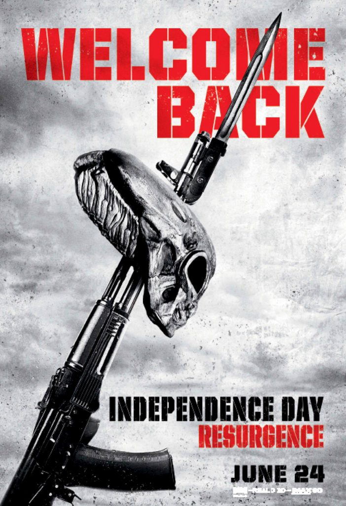 Independence Day Wiederkehr Clips & Poster