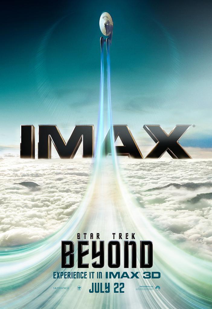 Star Trek Beyond Ausschnitte IMAX Poster