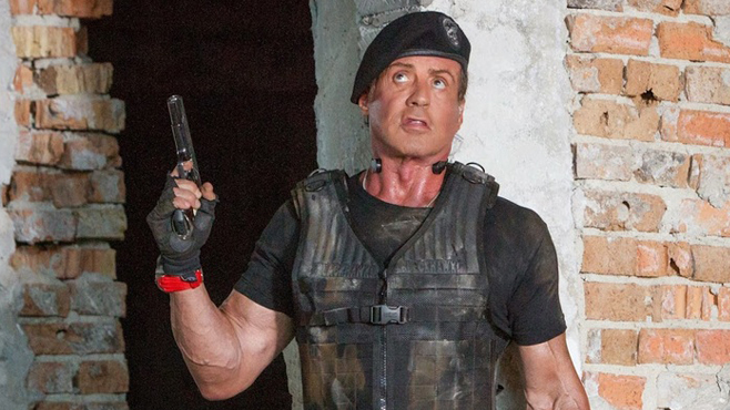 Sylvester Stallone Expendabelles