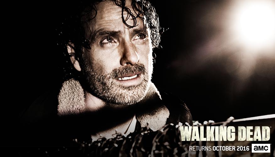 The Walking Dead Staffel 7 Start Charakterposter 1