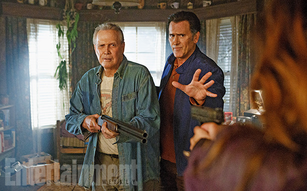 Ash vs Evil Dead Staffel 2 Poster Lee Majors