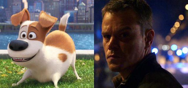 Box-Office Deutschland: Pets wehrt Jason Bourne an der Spitze ab