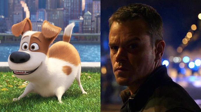 Pets Jason Bourne Box Office Deutschland