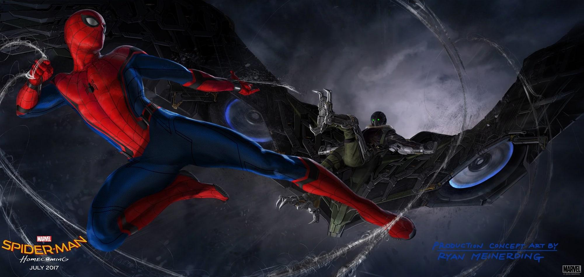 Spider Man Homecoming Tinkerer Vulture