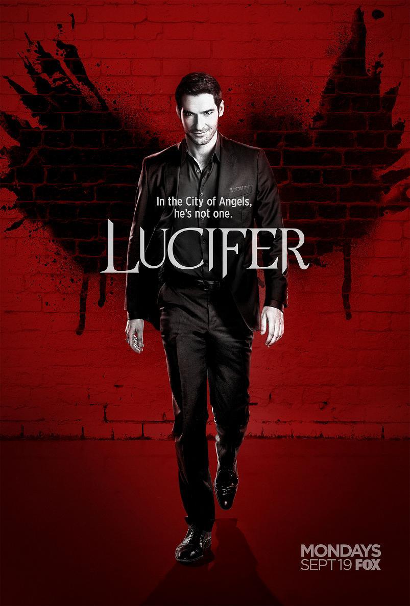 Lucifer Staffel 2 Vorschau Poster