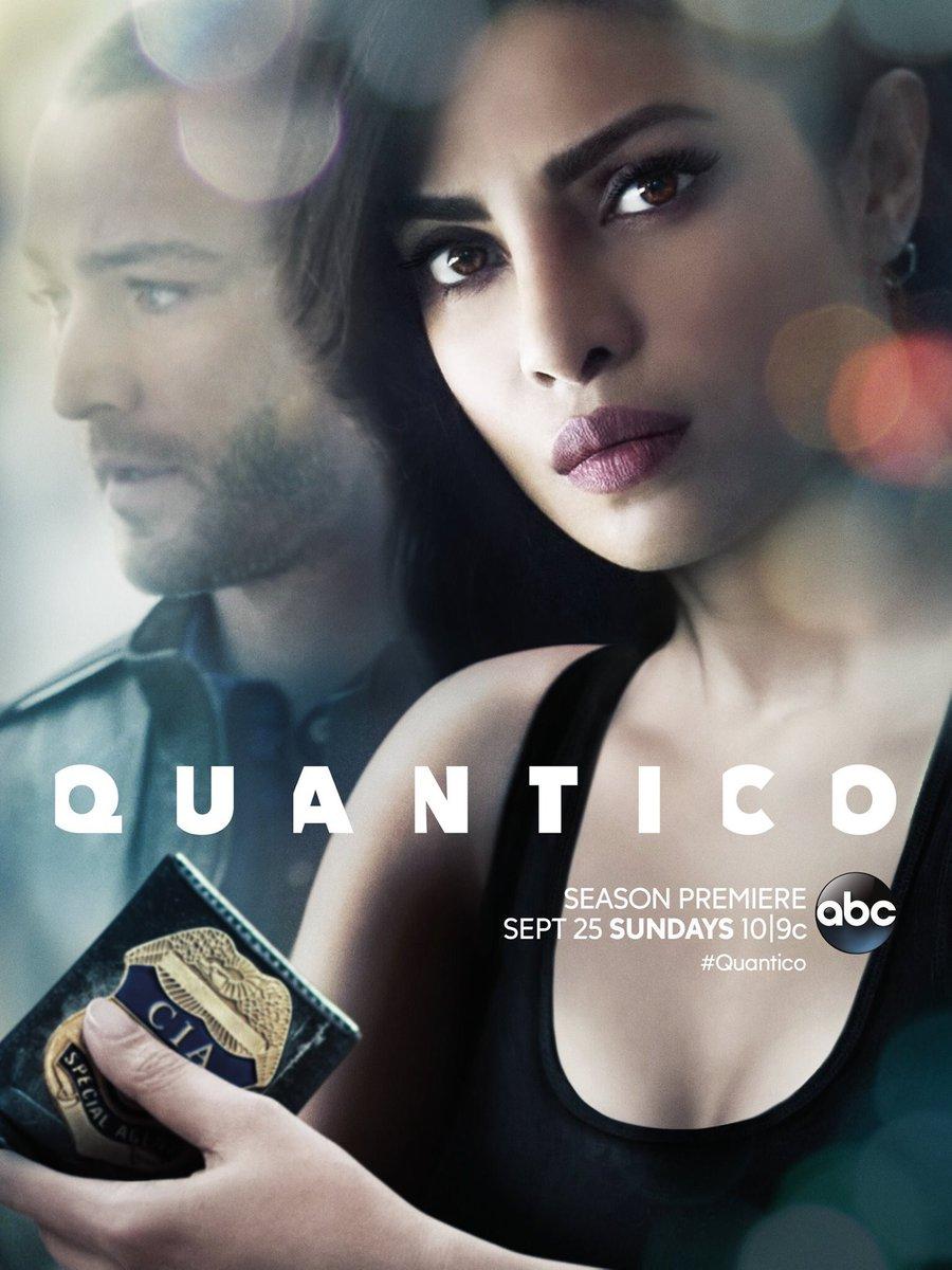 Quantico Staffel 2 Vorschau Poster