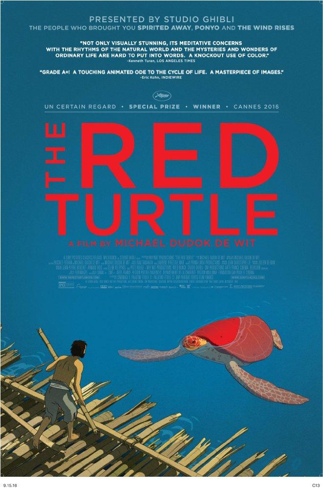 Filmfest Hamburg 2016 Tag 3 Die rote Schildkröte