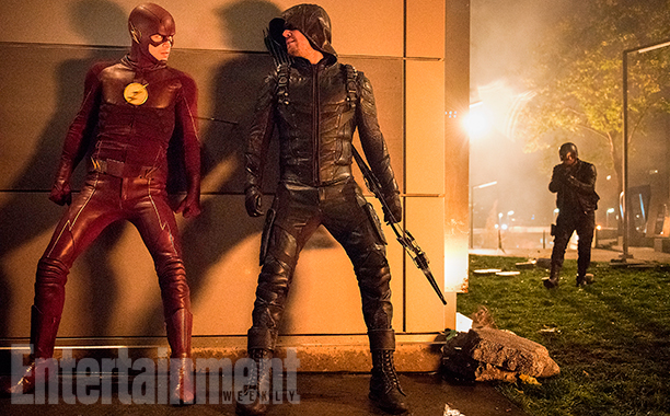 Arrow The Flash Legends of Tomorrow Supergirl Crossover Foto 3