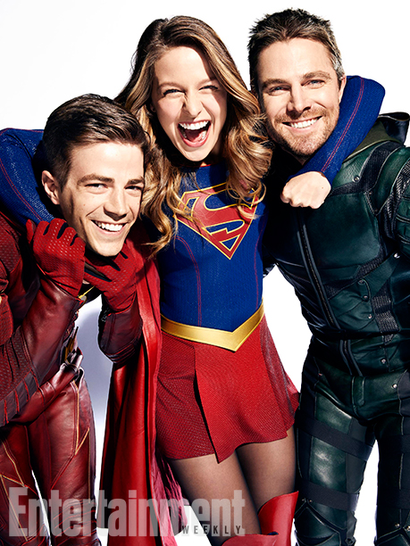 Arrow The Flash Legends of Tomorrow Supergirl Crossover Foto 7