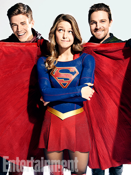 Arrow The Flash Legends of Tomorrow Supergirl Crossover Foto 5