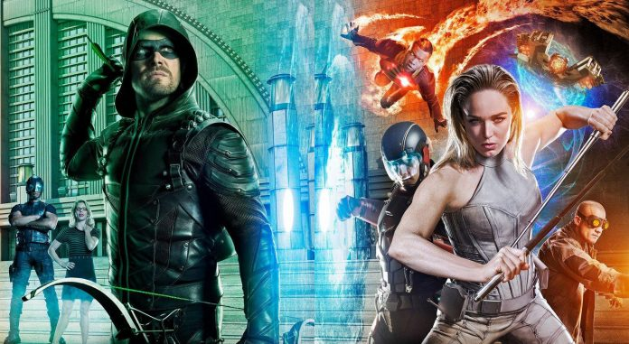 Arrow The Flash Supergirl Crossover Trailer