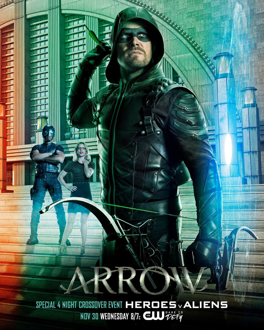 Arrowverse Crossover Trailer & Poster 1