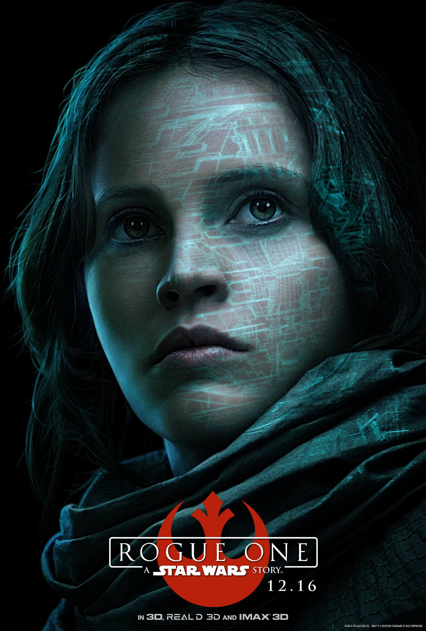 Rogue One a Star Wars Story Vorschau Charakterposter 1