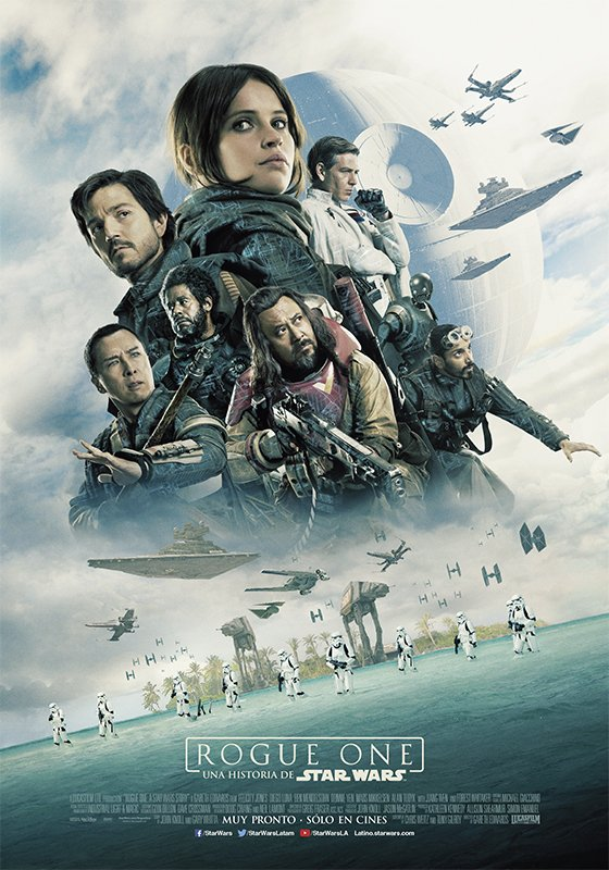Rogue One a Star Wars Story Vorschau Poster 2