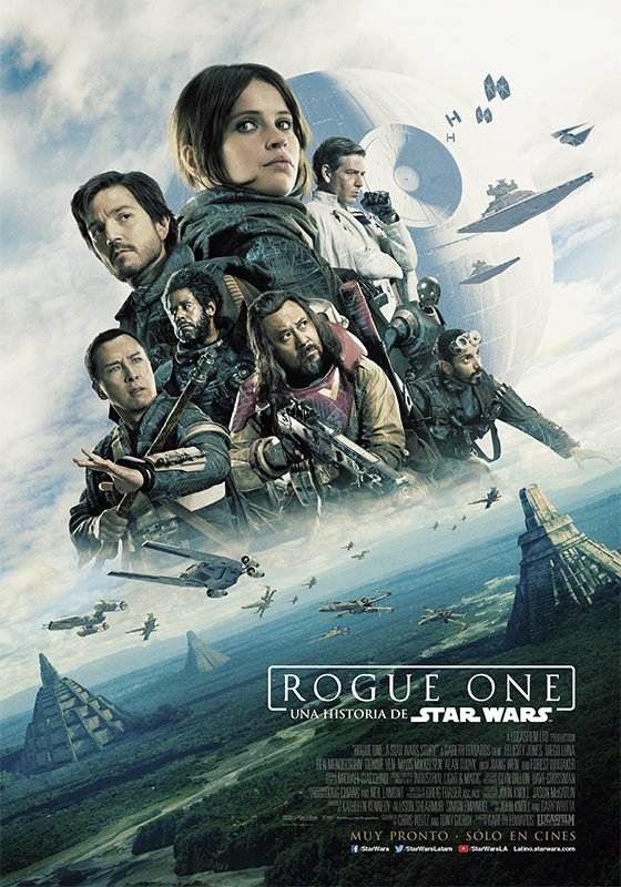Rogue One a Star Wars Story Vorschau Poster 1