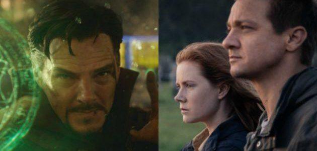 Box-Office USA: Doctor Strange bleibt oben, Arrival startet gut