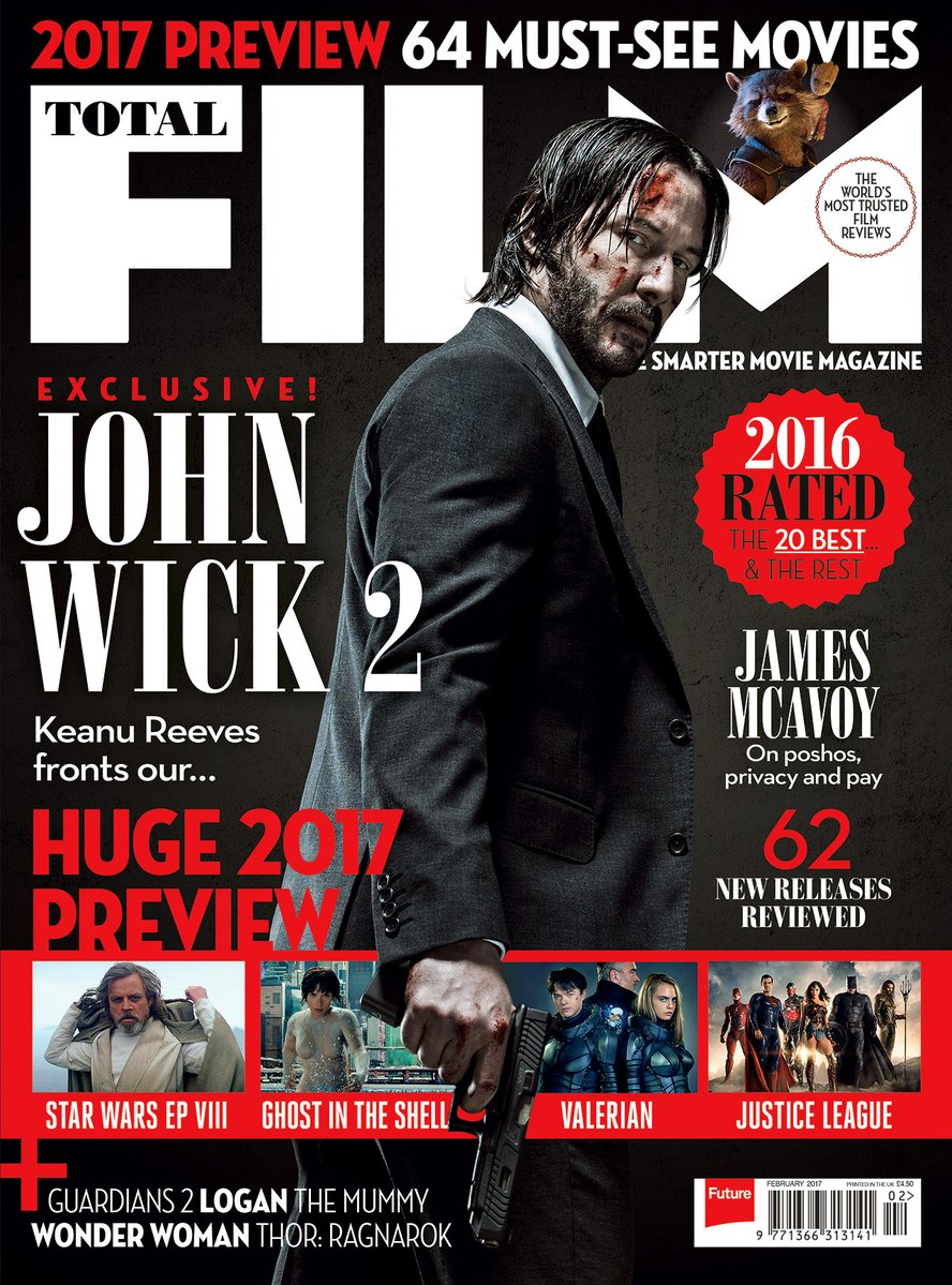 John Wick 2 Trailer & Cover 2