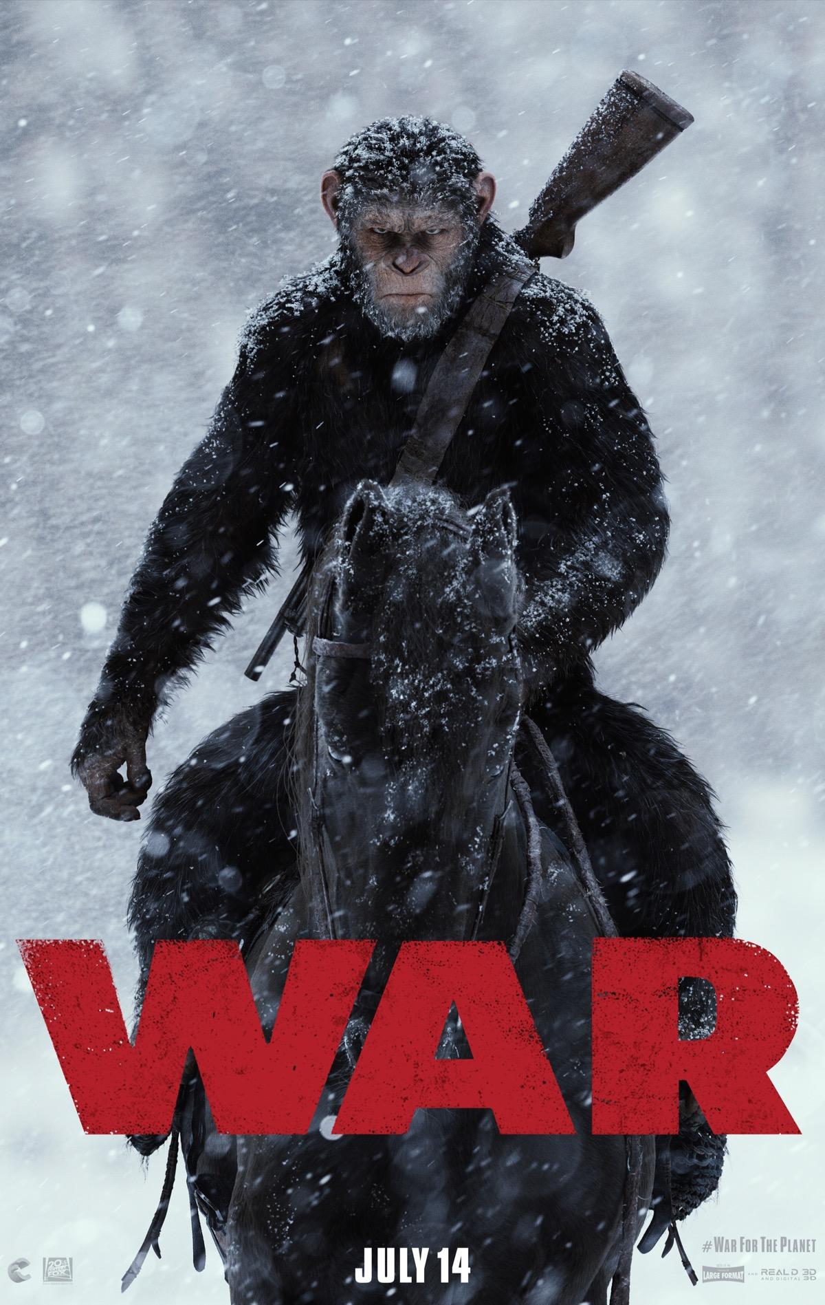 Planet der Affen Survival Trailer & Poster