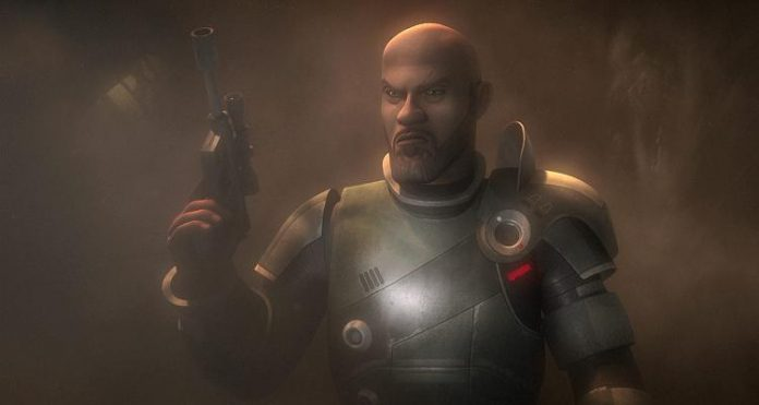 Star Wars Rebels Saw Gerrera