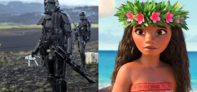 Box-Office Deutschland: Rogue One bleibt an der Spitze, Disneys Vaiana enttäuscht