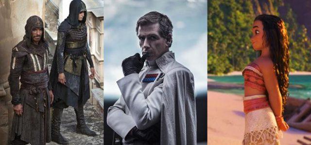 Box-Office Deutschland: Rogue One wieder oben, Vaiana legt kräftig zu, Assassin's Creed startet gut