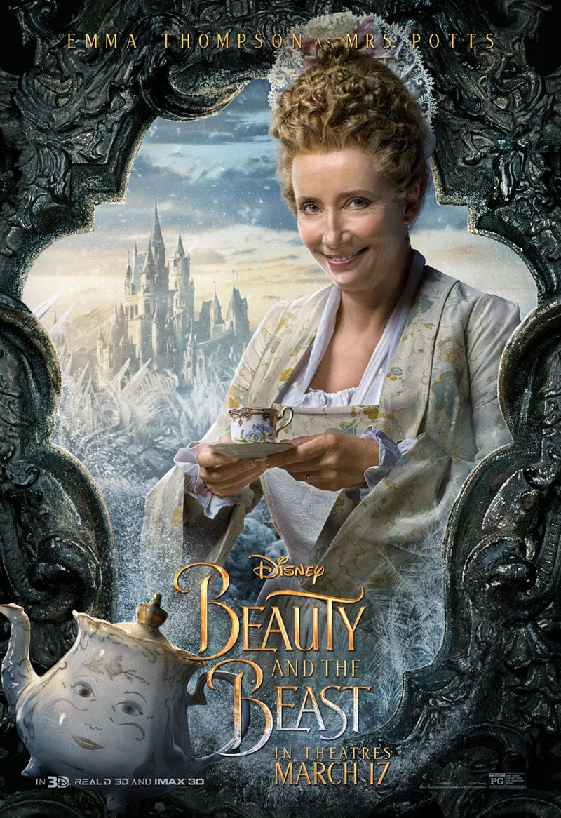 Die Schöne und das Biest Trailer & Charakterposter 3