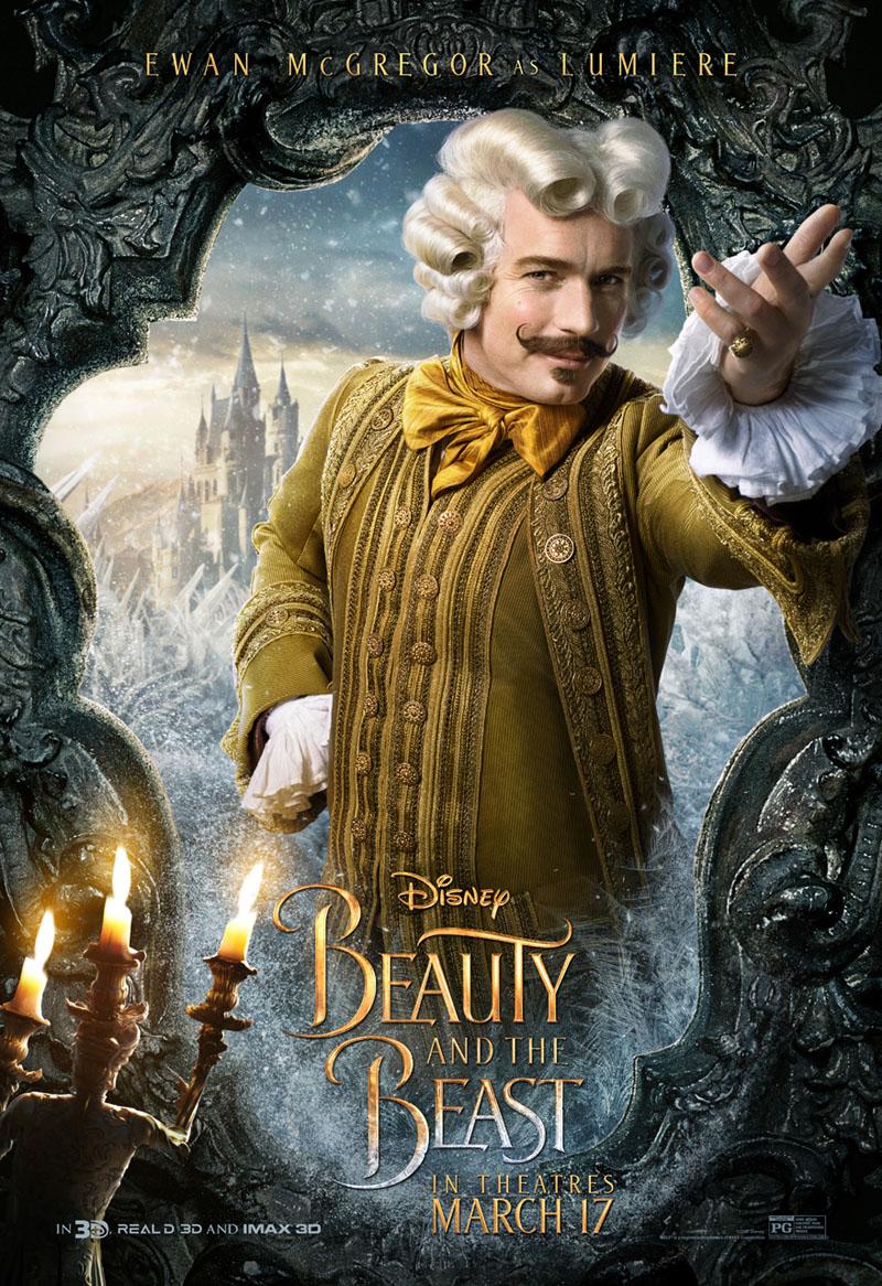 Die Schöne und das Biest Trailer & Charakterposter 8