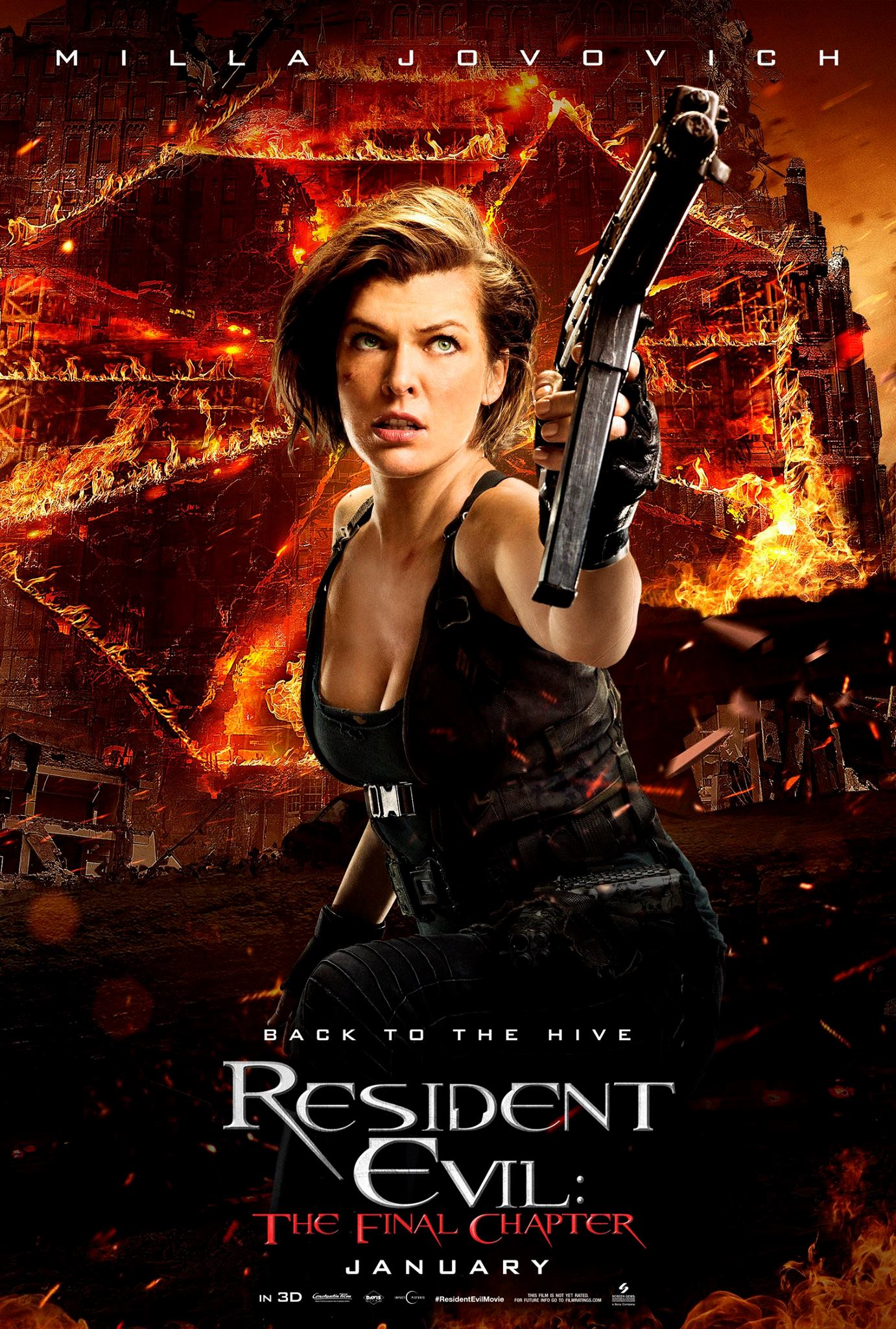 Resident Evcil The Final Chapter Vorschau Charakterposter 6