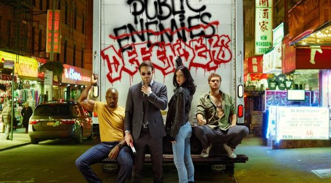 The Defenders Fotos