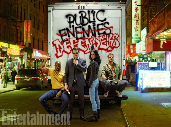 The Defenders Fotos 12