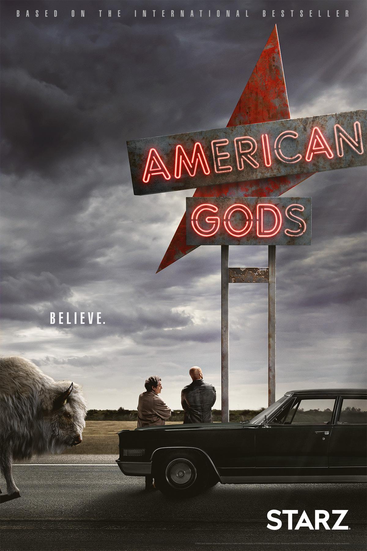 American Gods Start & Poster 1