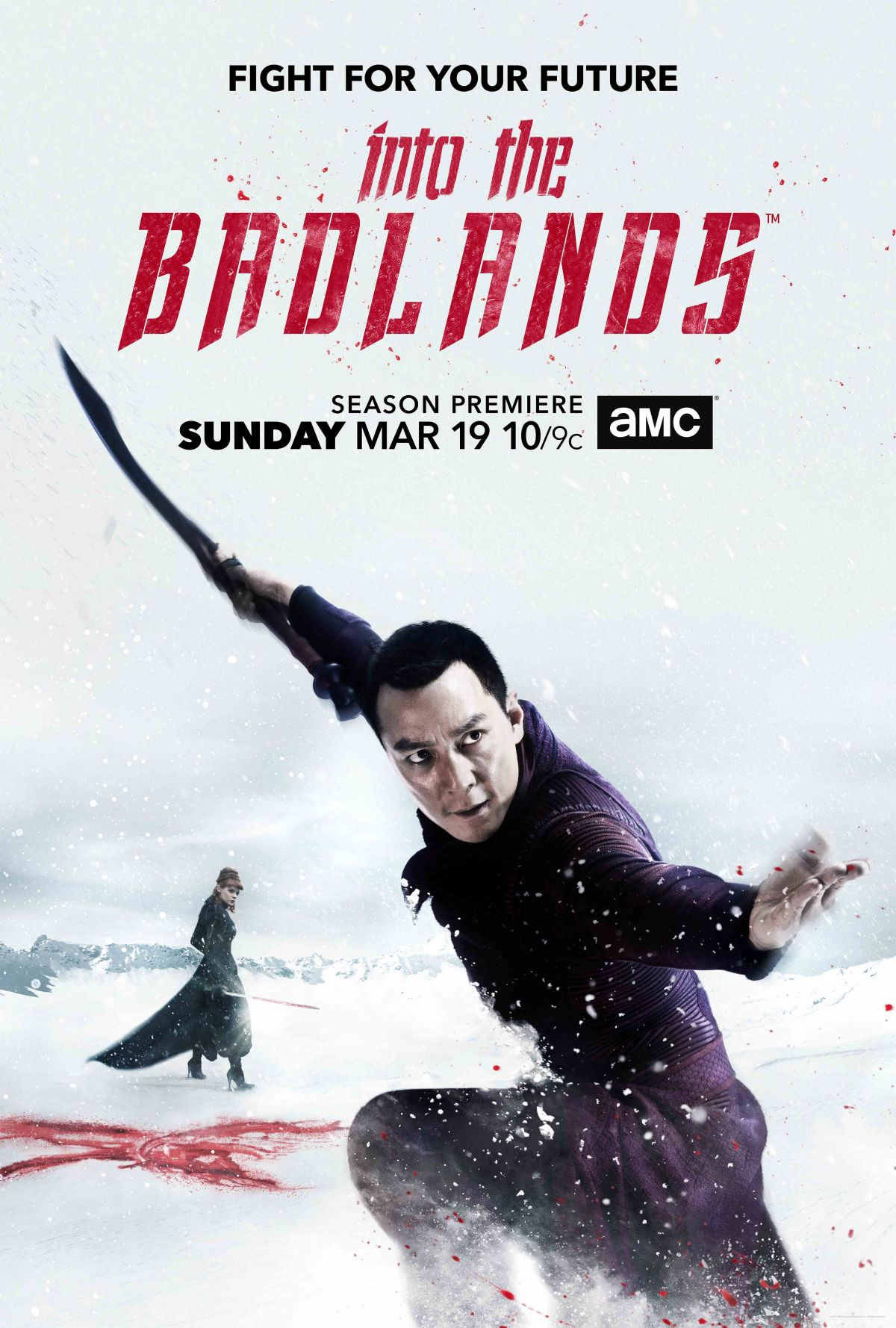 Into the Badlands Staffel 2 Start & Poster