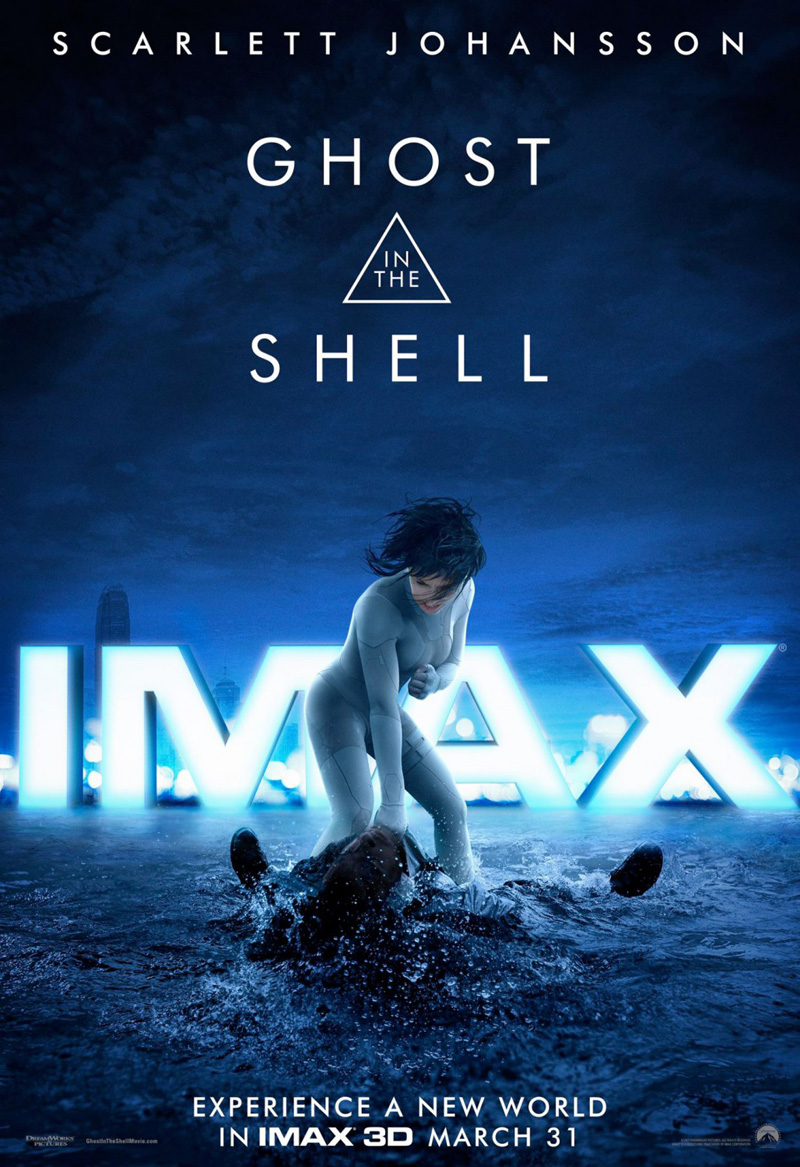 Ghost in the Shell Vorschau IMAX Poster
