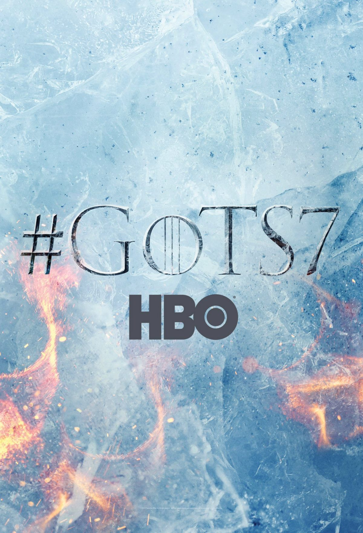 Game of Thrones Staffel 7 Start & Teaserposter