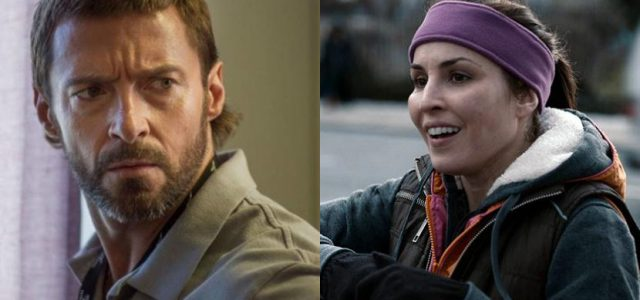 Hugh Jackman und Noomi Rapace im Gespräch für Michael Manns Ferrari-Biopic