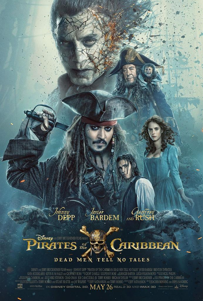 Pirates of the Caribbean Salazars Rache Trailer & Poster