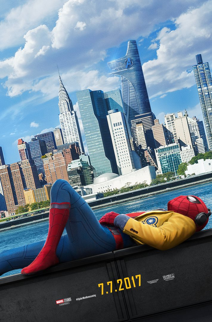 Spider Man Homecoming Trailer Poster 2