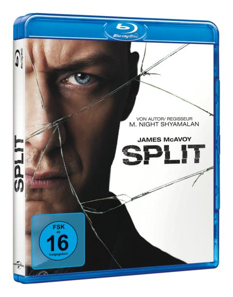 Split (2016) Blu-ray Cover