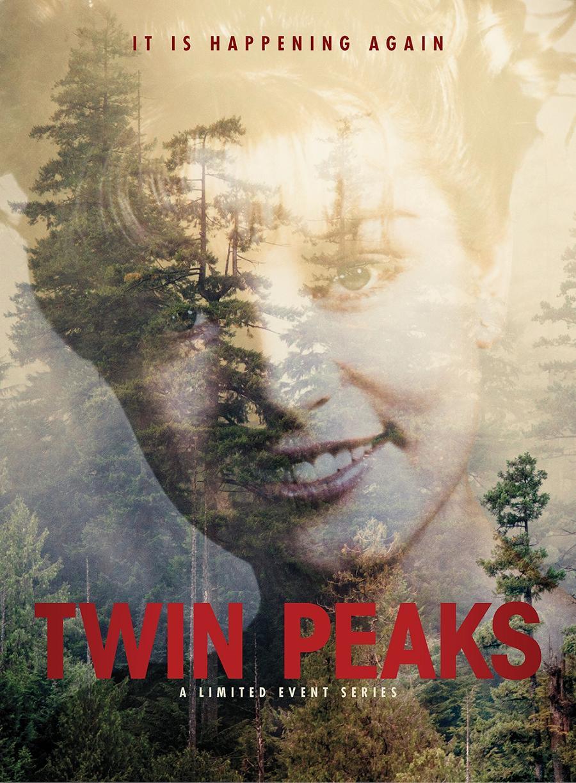 Twin Peaks Revival Start Deutschland Poster 2