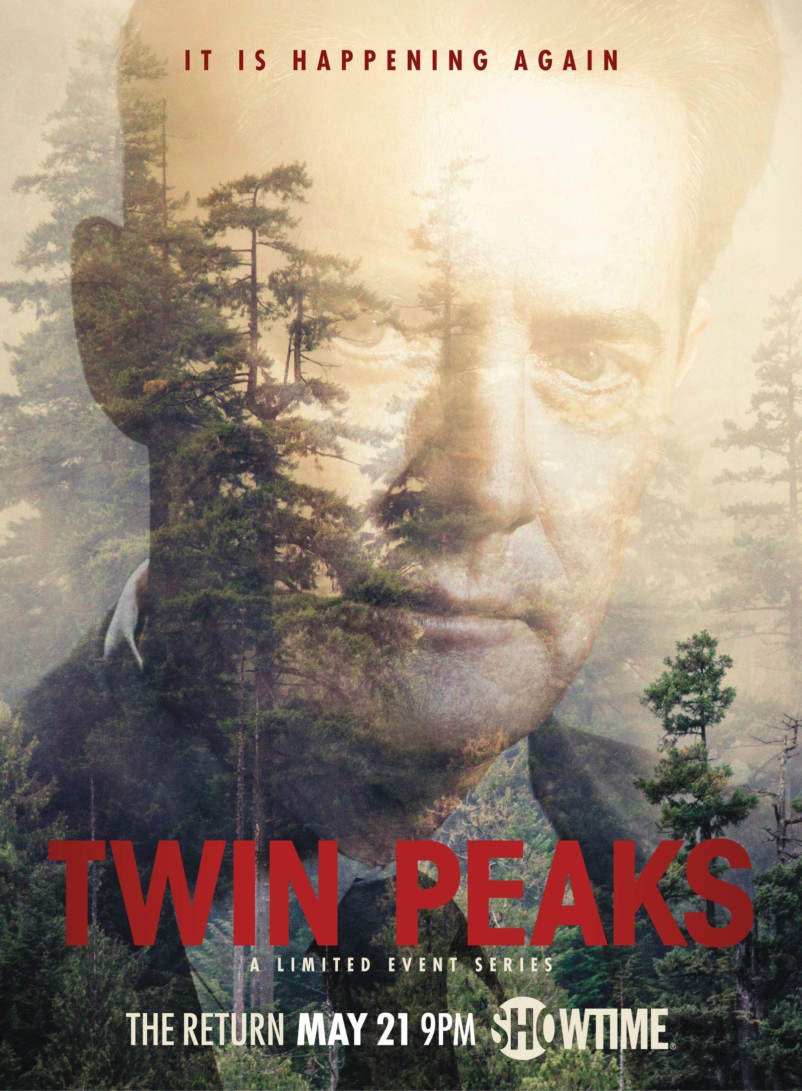 Twin Peaks Revival Start Deutschland Poster 1