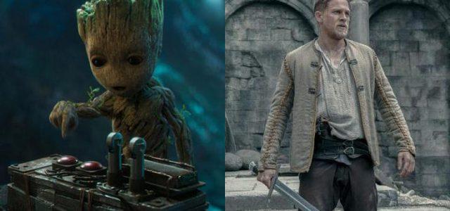 Box-Office USA: Guardians of the Galaxy Vol. 2 siegt mühelos, King Arthur floppt