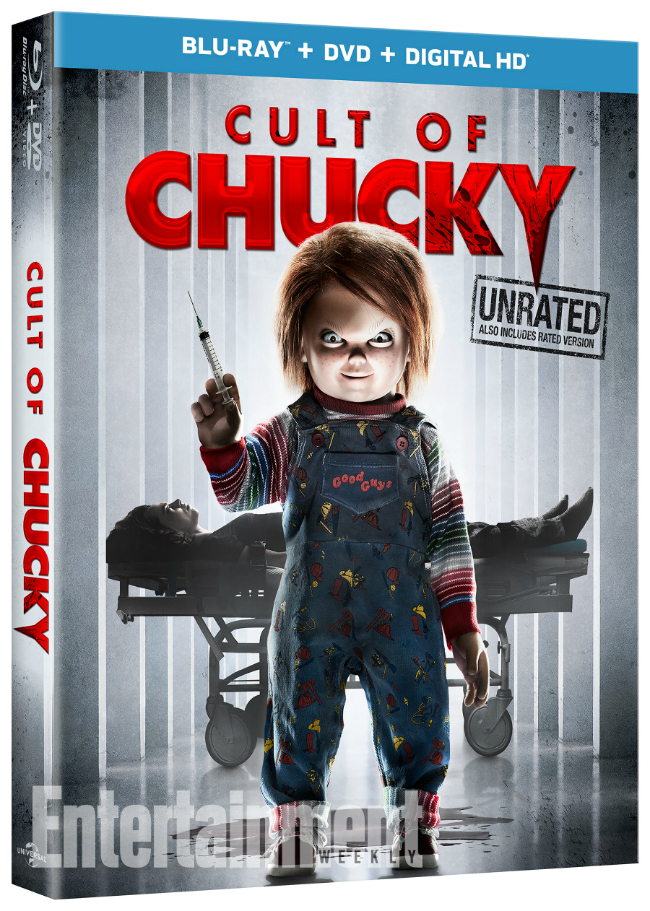 Cult of Chucky Trailer Blu-ray Cover