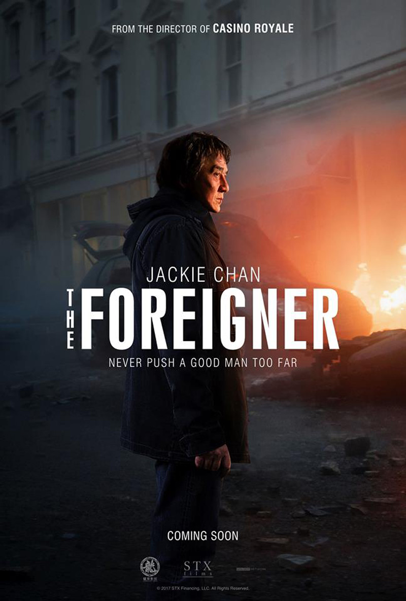The Foreigner Trailer & Poster