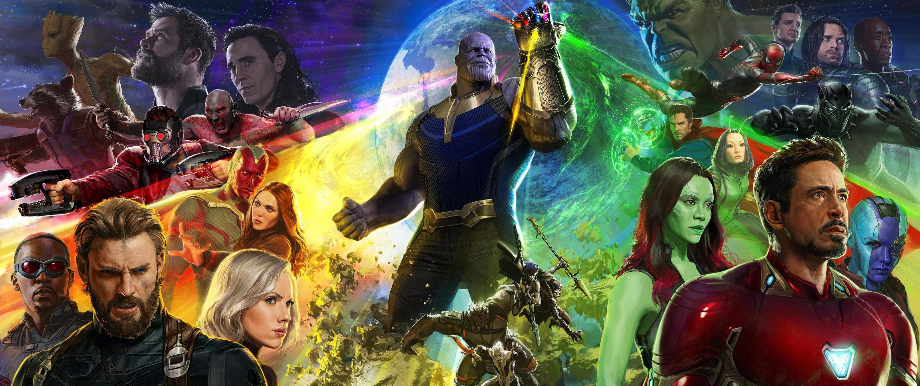 Avengers Infinity War Comic Con Trailer Banner