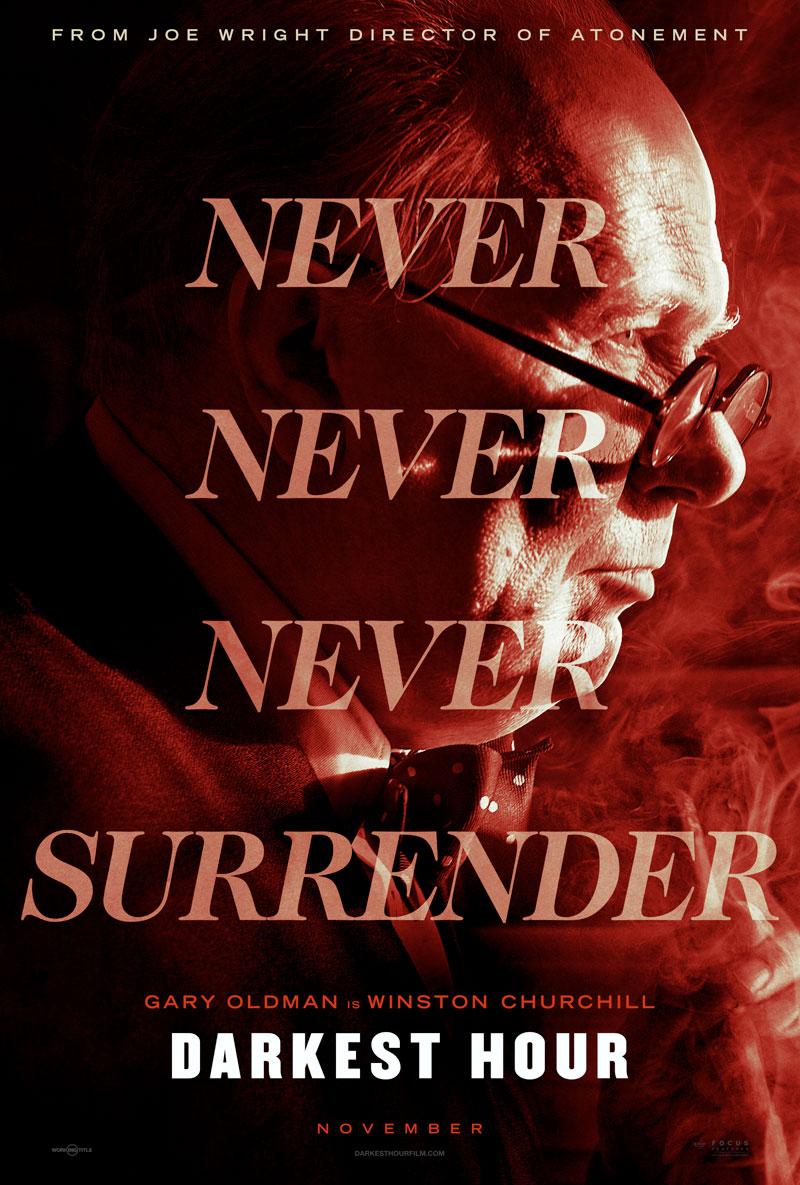 Churchill Die dunkelste Stunde Trailer & Poster