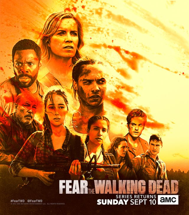 The Walking Dead Staffel 8 Start FTWD Staffel 3 Teil 2 Poster