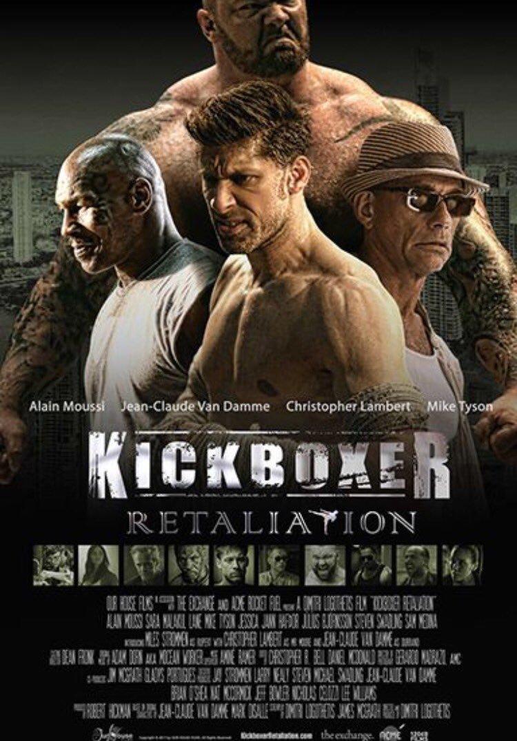Kickboxer Retaliation Trailer & Poster